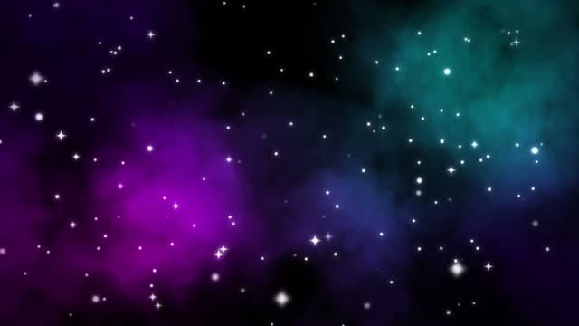 galaxy ループ可能な抽象的な背景 - ダンスミュージック点の映像素材/bロール