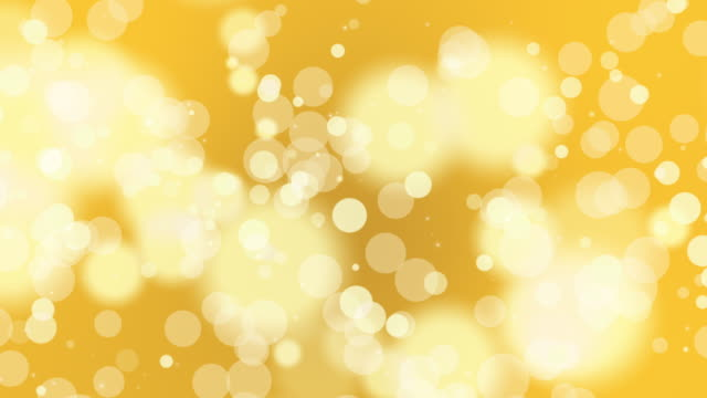 Loopable abstract gold soft particle background