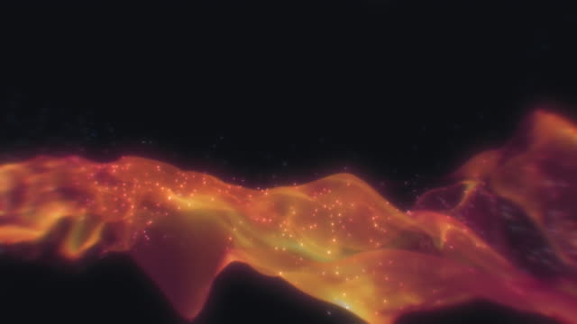 loopable abstract smoke on black background - pyrotechnic effects stock videos & royalty-free footage