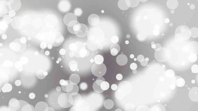 Loopable abstract soft particle background