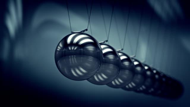Loopable balancing balls Newton's cradle