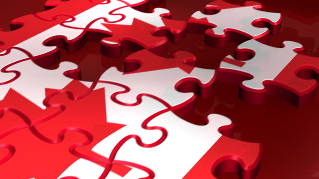 Loopable, Canadian Flag in Puzzles