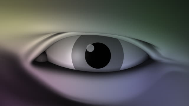 loopable, close-up of eyes - spokesman stock videos & royalty-free footage