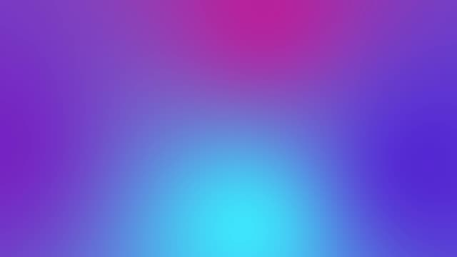 vídeos de stock e filmes b-roll de 4k loopable color gradient background animation - purple