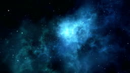 Loopable cosmic nebula spin
