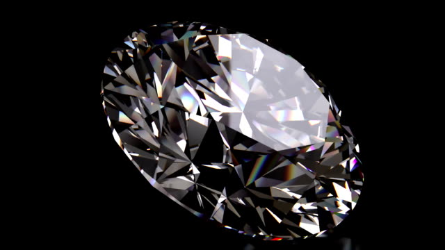 loopable diamond close up - stone object stock videos and b-roll footage