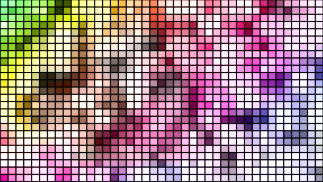 loopable disco mosaic background - disco dancing stock videos & royalty-free footage