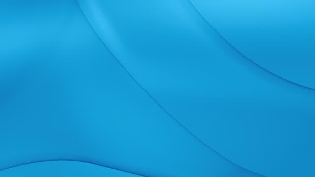 En bucle, dinámico geométrico las curvas en azul