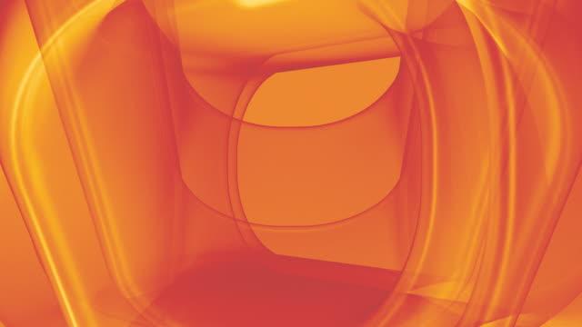 Boucle géométrique courbes chaleureuse, dynamique
