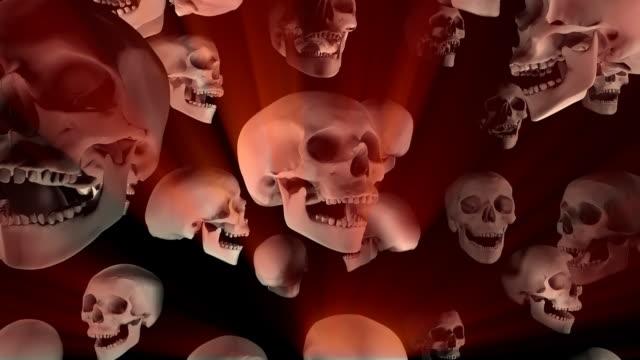 Loopable, Falling Skulls Halloween