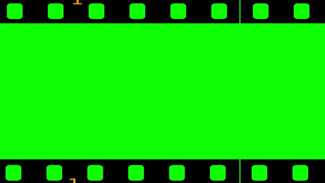 Loopable film roll chroma key