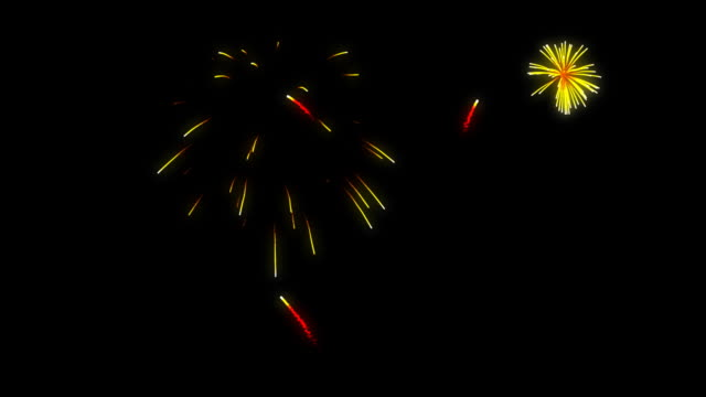 loopable fireworks - around the fair n.y stock videos & royalty-free footage