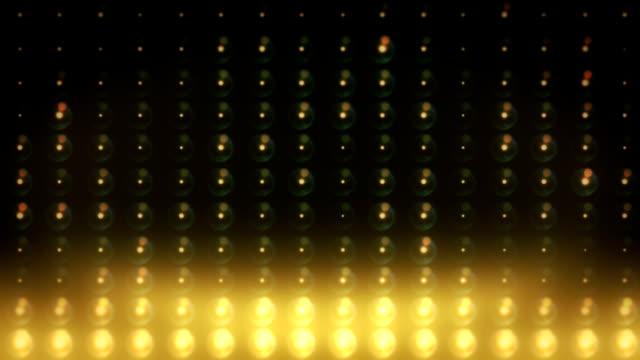 vidéos et rushes de bouclables passez des feux du stade - surexposition effet visuel