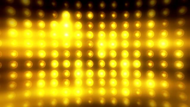 Endlos wiederholbar Flutlicht-Stadion Lichter