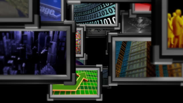 Loopable, Fly Through Multimedia,  Information Medium, Television, Broadcasting, Display