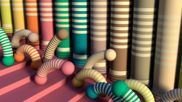 Loopbare Fun allegorische Fashion taferelen (2 camerahoeken)