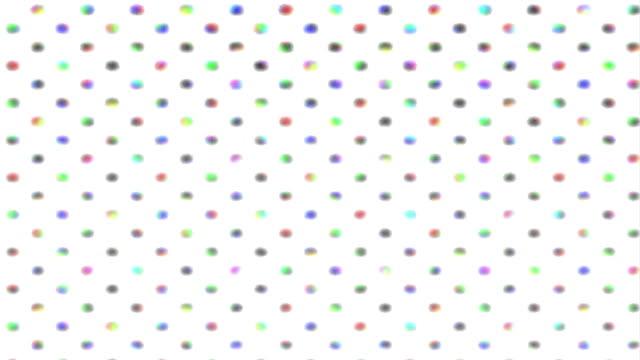 Endlos wiederholbar funky multi-farbigen Hintergrund. HD1080, NTSC, PAL