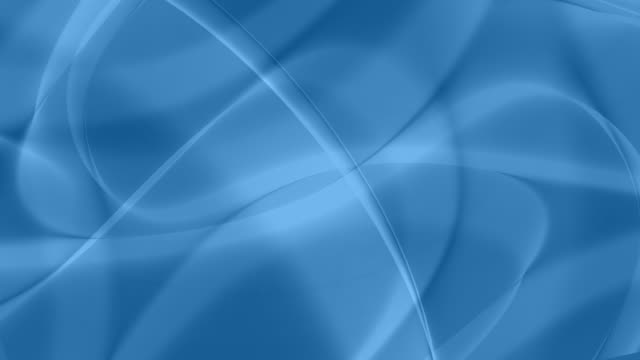 Loopable, Light Blue Soft Abstract Curves