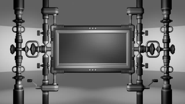 vídeos y material grabado en eventos de stock de concepto de control en bucle, alfa - mate técnica de vídeo
