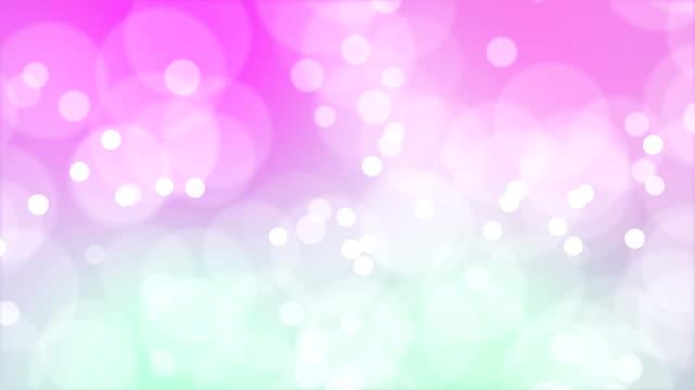 vídeos de stock e filmes b-roll de loop-capaz de partículas em movimento - cor de rosa