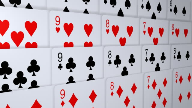 loopable, playing cards - gambling stock videos & royalty-free footage