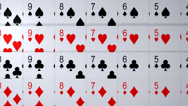 loopable, playing cards - blackjack stock videos and b-roll footage