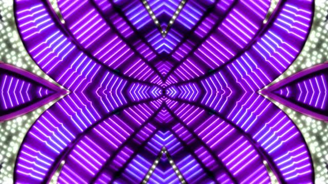 vídeos y material grabado en eventos de stock de loopable purple 2tone neon marquee - las vegas, nevada - cartel de teatro