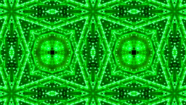 stockvideo's en b-roll-footage met loopable rainbow kaleidoscope lights frame - incandescent bulb