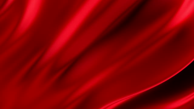 vídeos de stock e filmes b-roll de loopable red flowing cloth or fabric - vermelho