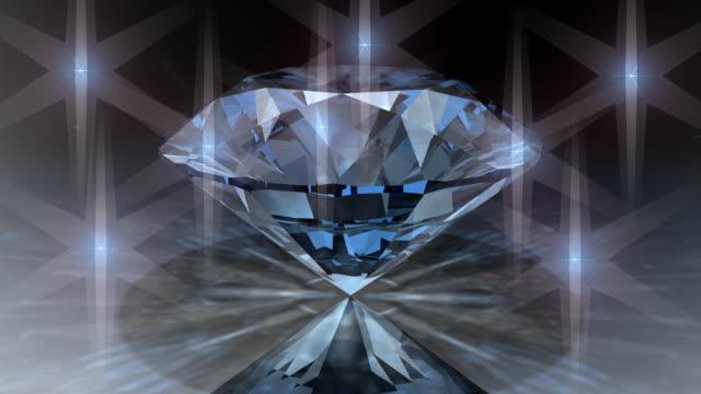 Loopable, Rotating Clear Diamond