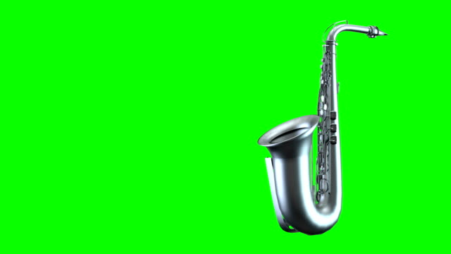 loopable saxophone spin - alto saxophone stock videos and b-roll footage