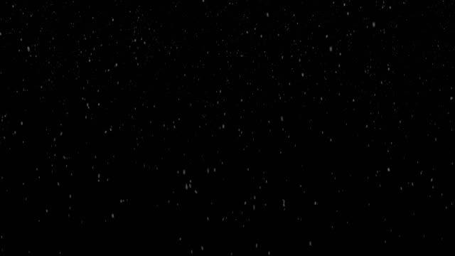 vidéos et rushes de alpha de neige bouclables (boucle 4k + chroma key). ajouter neige à n'importe quel fond - cristaux