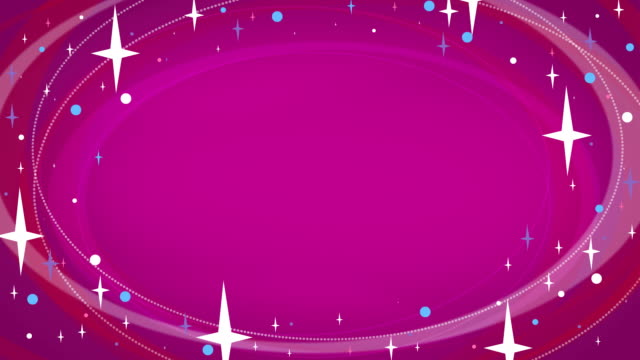 Loopable Stars Animated Background