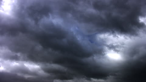 loopable storm clouds - dramatic sky stock videos & royalty-free footage