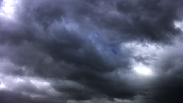 loopable storm clouds - loopable elements stock videos & royalty-free footage