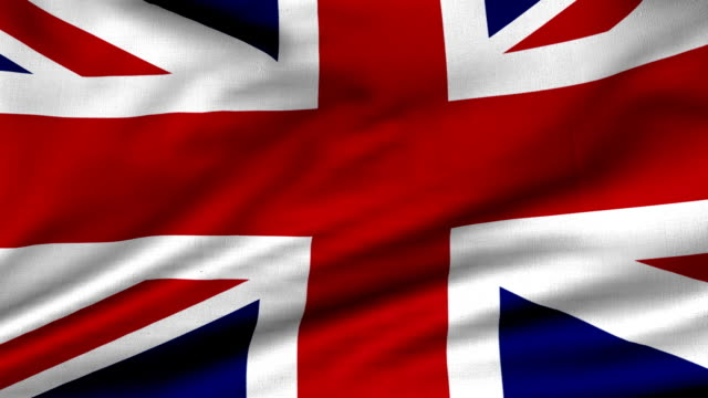 loopable  uk flag - british flag stock videos & royalty-free footage