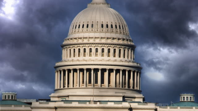 loopable us capitol - ominous stock videos & royalty-free footage