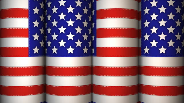loopable, usa flag, design element - design element stock videos & royalty-free footage