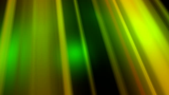 Endlos wiederholbar, warme grüne verträumte Sunbeam, spirituelles Licht, Positivität