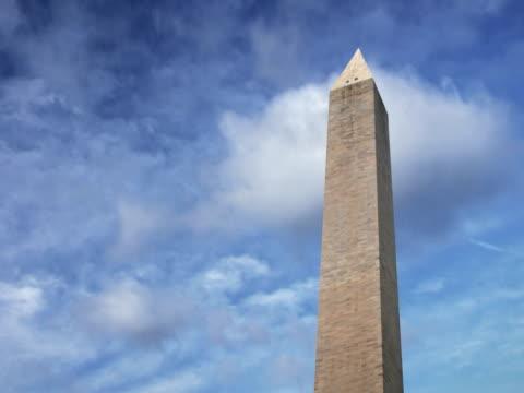 ntsc: loop-able washington monument - washington monument stock videos & royalty-free footage