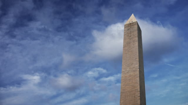 loop-able washington monument - washington monument washington dc stock videos & royalty-free footage
