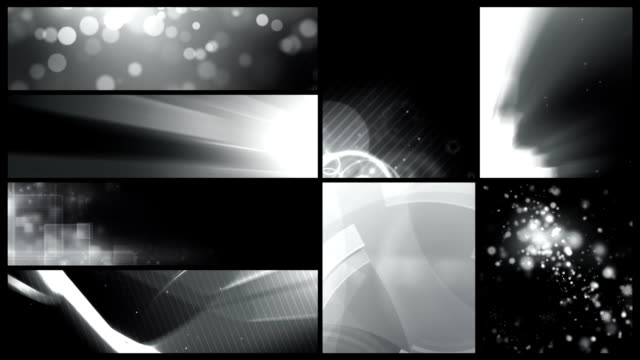 looping banner backgrounds - 24 video value pack black & white - scaly stock videos and b-roll footage