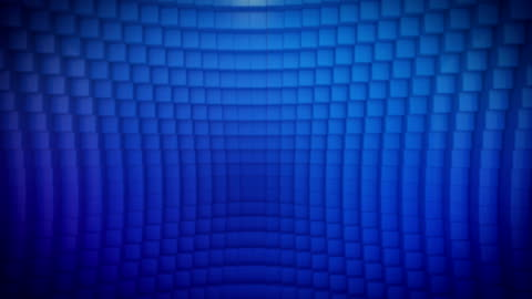 ループ青色キューブ - 投影図点の映像素材/bロール