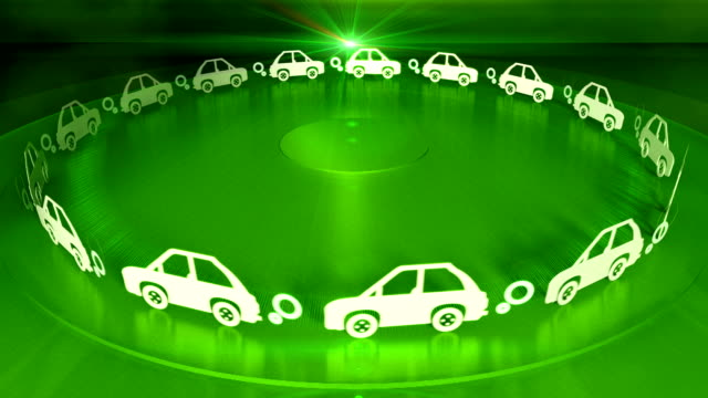 looping cars animation - symbol stock videos & royalty-free footage
