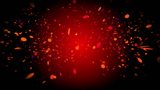 looping falling particles - johnfscott stock videos & royalty-free footage
