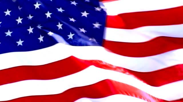 pal: looping us flag. hd progressive frames - pledge of allegiance stock videos & royalty-free footage