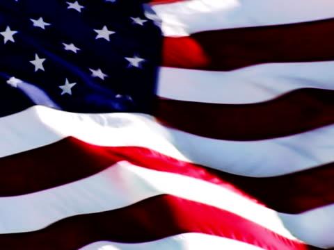 PAL: Looping US Flag. SD Progressive Frames