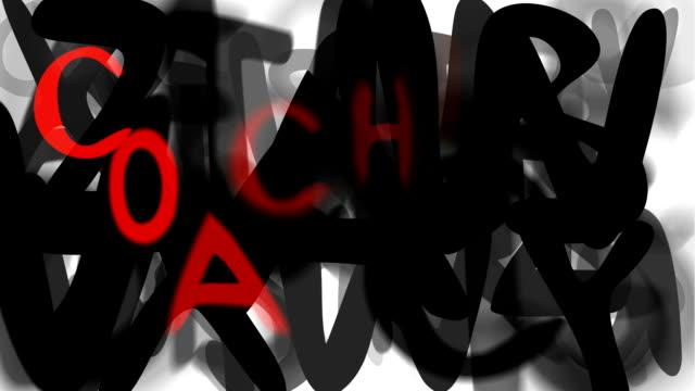 """coaching: locker-serie """"montage ihre nachricht"""" (endlosschleife) - multi layered effect stock-videos und b-roll-filmmaterial"""