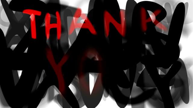"""danke: locker-serie """"montage ihre nachricht"""" (endlosschleife) - multi layered effect stock-videos und b-roll-filmmaterial"""