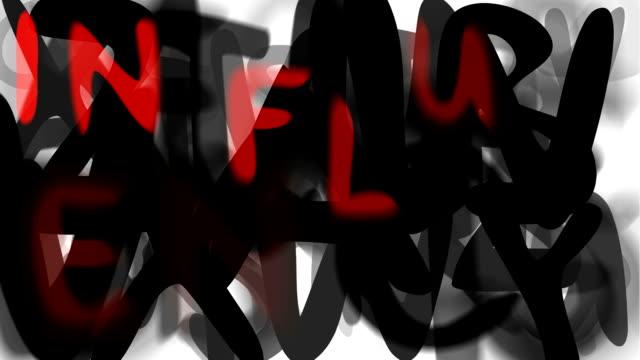 """grippe: lässige, serie """"montage ihre nachricht"""" (endlosschleife) - multi layered effect stock-videos und b-roll-filmmaterial"""